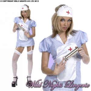SEXY GENUINE DELUXE Naughty Nurse Costume